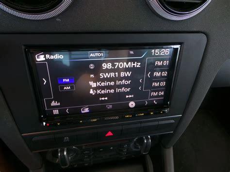 Audi A3 Radioblende by Audi A3 8p Um Apple Carplay Und Android Auto Erg 228 Nzen