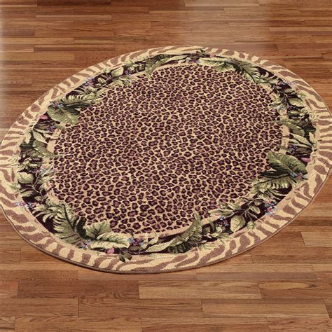 Jungle Rug by Jungle Safari Oval Rug Touch Of Class