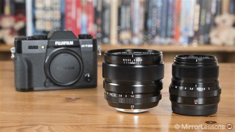 Fujinon Xf23mm F1 4 R 23mm fujifilm xf 23mm f 1 4 vs xf 23mm f 2 r wr the complete