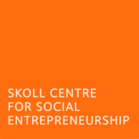 Mba Social Entrepreneurship Europe by Skoll Partners