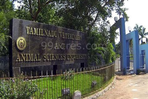 Top Mba Courses Chennai Tamil Nadu 600093 by Fees Structure And Courses Of Tamil Nadu Veterinary And