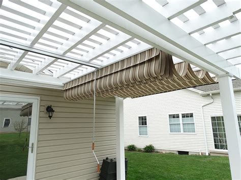 pergola retractable shade covers pergola pinterest