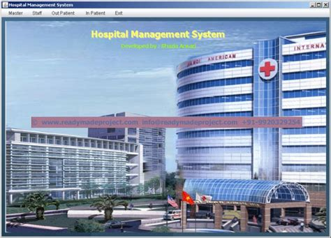 Mba Hospital Administration Projects by Free Project Abstract View Demo Of Mca