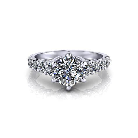 Trellis Engagement Ring scrolling trellis engagement ring jewelry designs