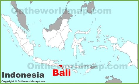 bali location   ireland map