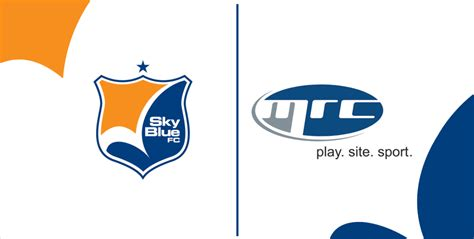 corporate partnership sky blue and mrc recreation front row soccer