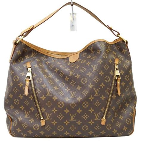 louis vuitton delightful monogram canvas gm shoulder bag