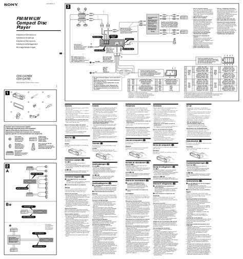 sony cdx gt565up wiring harness diagram wiring diagram