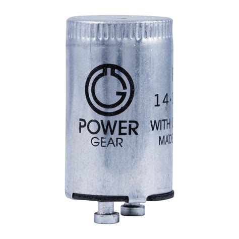 light starter power gear fluorescent starter fs 2 2 pack 54388 the