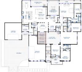contemporary courtyard house plan house plans with 4 car garage