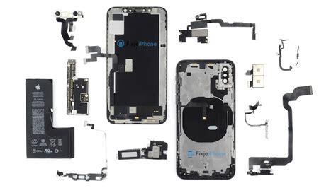 iphone xs teardown reveals new single cell l shaped battery macrumors
