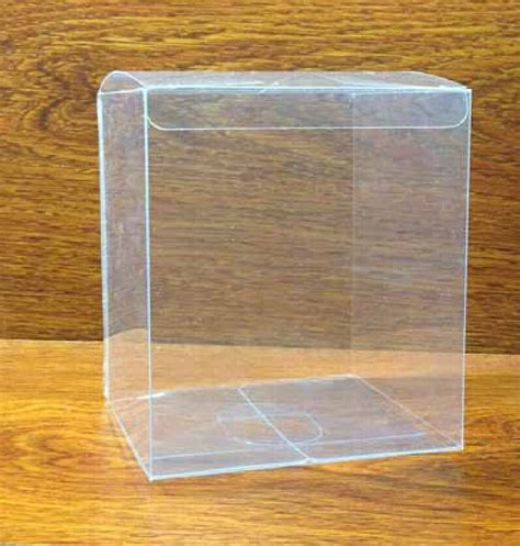 16 16 16cm plastic packing box birthday gift cup box clear
