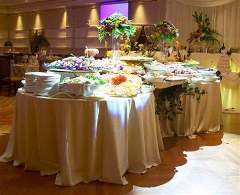 Buffet Table Ideas by Buffet Table Setting Ideas Chairs Set Up For An Event In