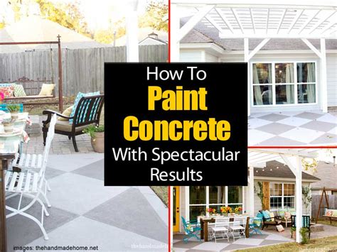 How To Paint A Concrete Patio by Painting A Concrete Patio With Spectacular Results