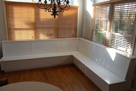 custom made banquette by sjk woodcraft design
