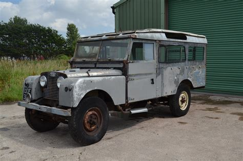 land rover series 1 land rover series 1 1958 109 quot with station wagon