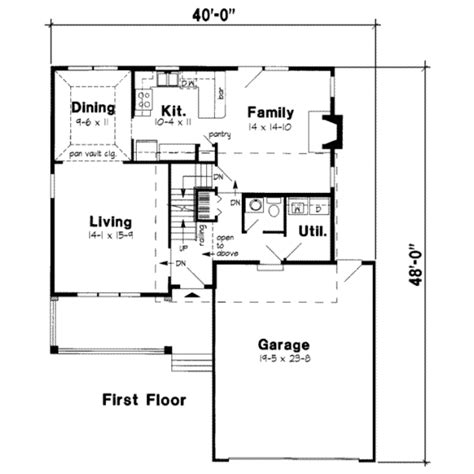 1800 square foot floor plans traditional style house plan 3 beds 2 5 baths 1800 sq ft