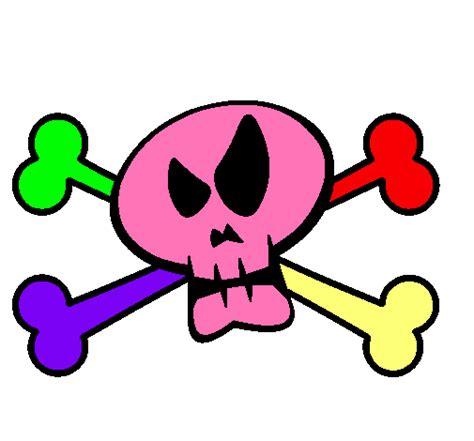 imagenes de calaveras infantiles dibujo calavera pirata imprimir imagui