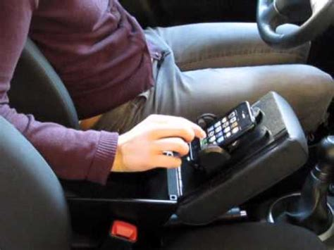 phone holder, iphone and smartphone holder in the armrest