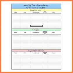 8 weekly progress report template project management