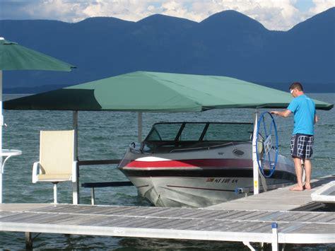 boat canopy skirts boat lift canopy systems shoremaster