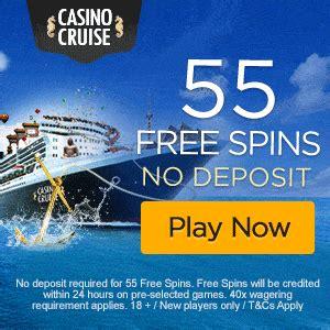 casino cruise deposit bonus casino cruise 55 free spins no deposit bonus exclusive