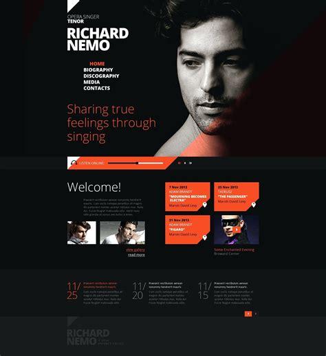 musician profile template template musician profile template
