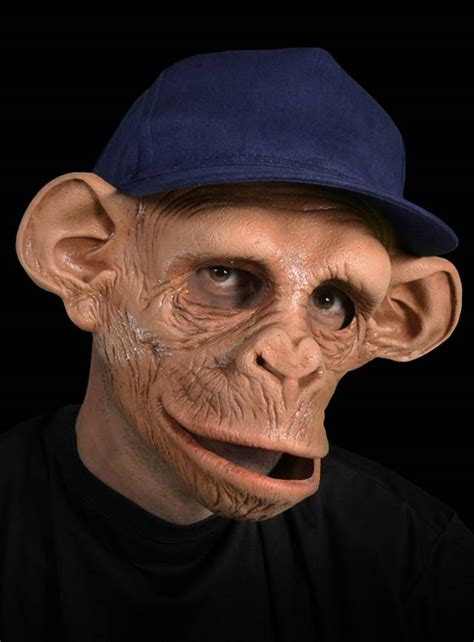 american chimp latex ape mask maskworldcom