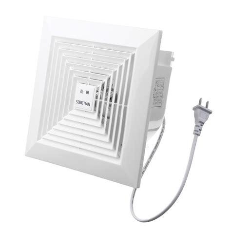 plug in exhaust fan khg 12b 31w 6 inch air exhaust fan blower ceiling wall