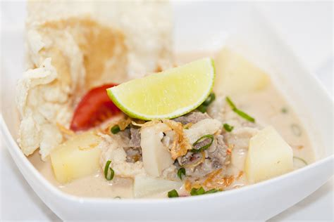 soto betawi jakarta style beef soup vero  home