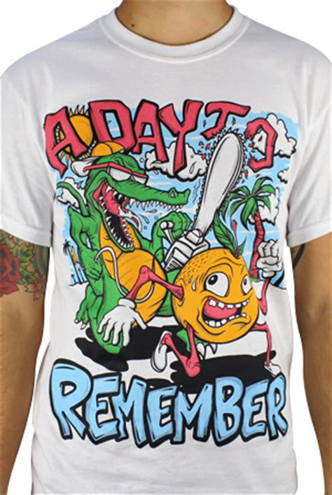 Kaos Band A Day Remember Tshirt Musik A Day 03 orange you glad t shirt a day to remember wholesale t