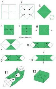 diy origami box printable