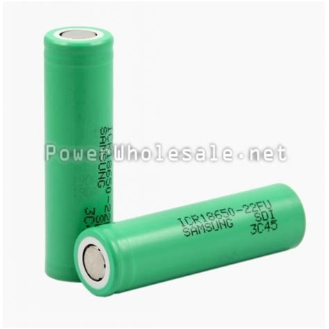 Samsung Icr18650 22fu Lithium Ion Battery 3 7v 2200mah 14 Days discount china wholesale samsung icr 18650 22fu 2200mah 3 7v rechargeable li ion battery 1pc