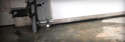 garage door leaks sloped archives garage door repair guide