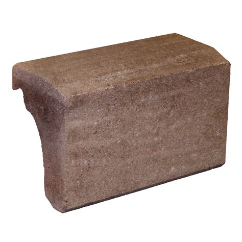 Wainscot Cap Shop Novabrik Walnut Brick Veneer Wainscot Cap At Lowes