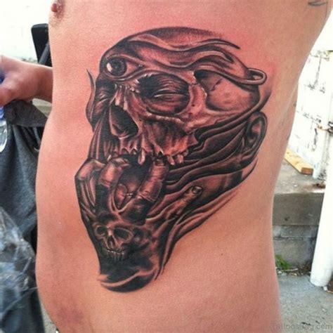 dead head tattoo designs 59 fabulous skull tattoos for rib