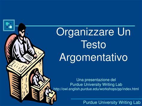 un testo argomentativo ppt organizzare un testo argomentativo powerpoint
