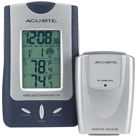 acu rite 174 wireless weather station and atomic clock
