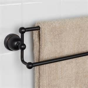 towel bar bathroom cade double towel bar bathroom
