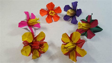 Origami Hibiscus Flower - origami hibiscus gallery craft decoration ideas