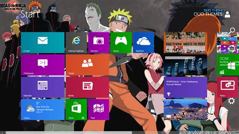 naruto themes pack naruto road to ninja theme for windows 7 and 8 ouo themes