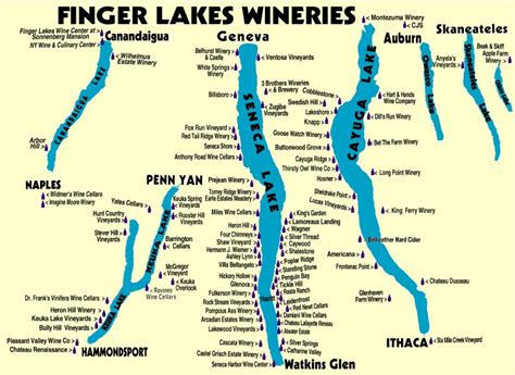 finger lakes ny map finger lakes as i see it