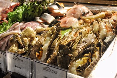 Seafood Buffet At Casuarina Beach Restaurant Dusit Thanai Sea Food Buffet