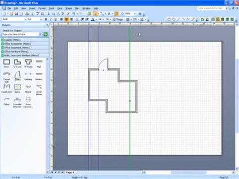 visio drawing scale microsoft visio scale drawing part 2