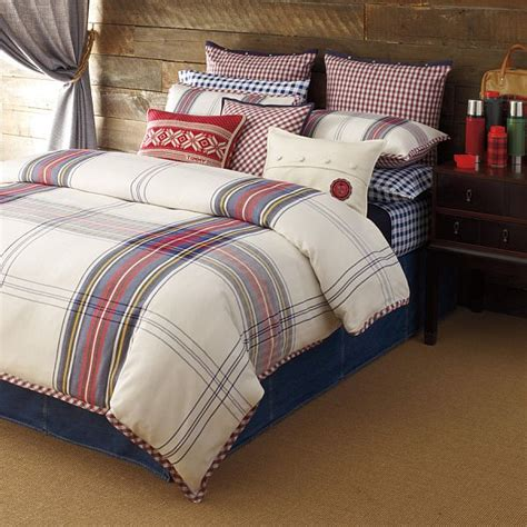 tommy comforter hilfiger tartan bedding by tommy hilfiger boys cabin and by