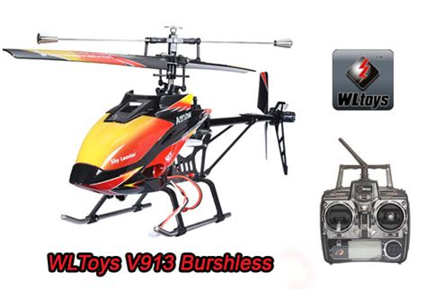 Helicopter Wl V913 Single Blade 4ch 24ghz wltoys v913 2 4g 4ch single blade helicopter bushless ver wl v913bl rtf us 58 00 miracle