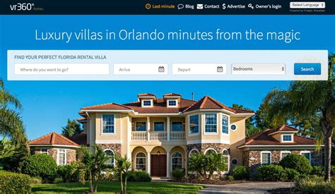 luxury florida villas to rent how to book on vr360homes
