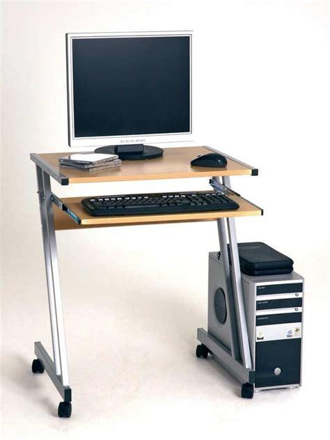 pc tisch haku computertisch computerwagen pc tisch buche