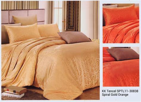 Sprei Kingkoil Suteratencel Tosca 120x200x30 sprei cantik sprei katun jepang sprei murah bed cover