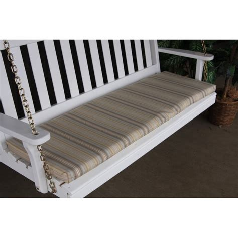 glider bench cushions 6 foot swing bench glider cushion